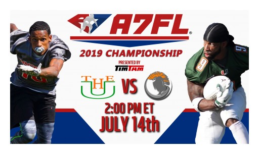 2019 A7FL Championship: PA Immortalz vs. Paterson U - Sunday, July 14, at 2 p.m. ET