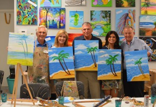 Again, no one has to be an expert. Most of our singles who attend have never painted before and have a great time. Who knows? People may surprise themselves with their talents.