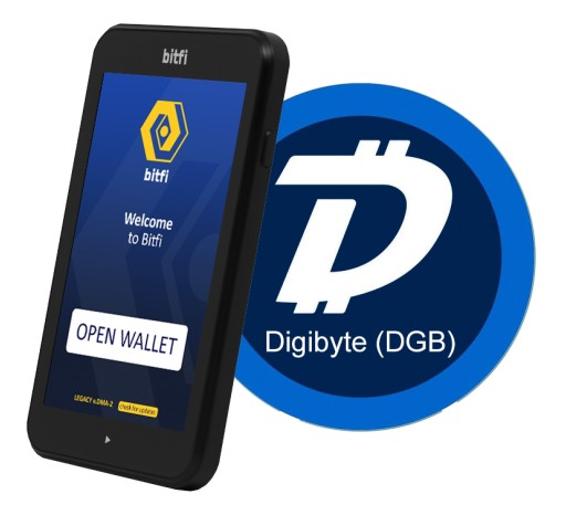 Bitfi to Include One of World's Longest, Fastest and Most Secure UTXO Blockchains in Existence, DigiByte (DGB), to Wallet Ecosystem