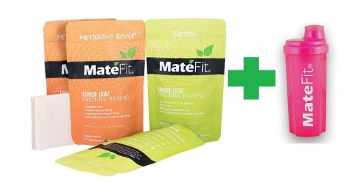 MateFit Launches FREE $9.95 Pink Bottle With Teatox Purchase