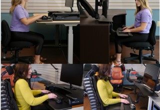 S2S Comfort Plus vs. Popular Desk-on-Desk Riser