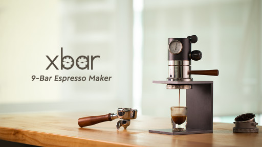 Xbar Announces Launch of Personal 9-Bar Espresso Maker For True Coffee Lovers