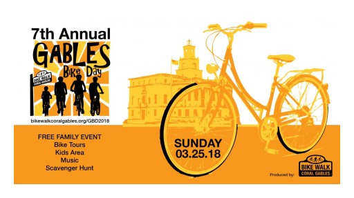 Gables Bike Day Returns to Downtown Coral Gables