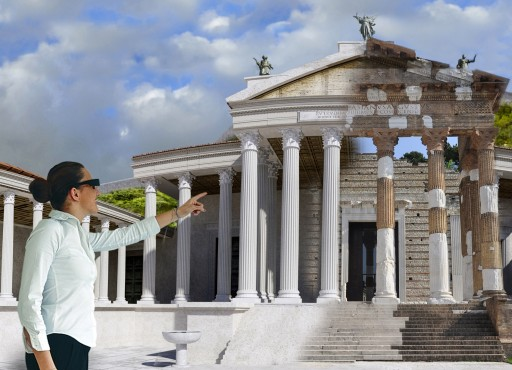 ARtGlass Creates Futuristic Tours for Ancient Pompeii