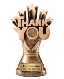 custom trophy to thank coach or advisor