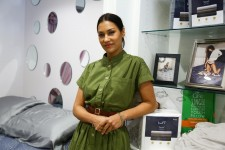 The Morning Show's Janina Gavankar with Luft Beds
