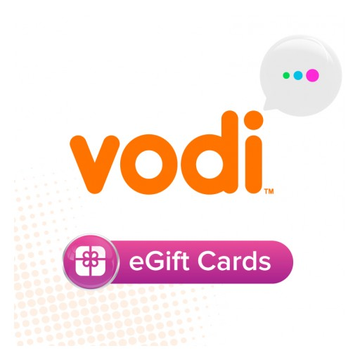 Vodi's eGift Cards Make Holiday Shopping Easy