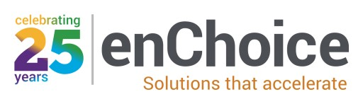 enChoice Celebrates their 25th Anniversary at IBM Think with Commemorative Logo for 2018