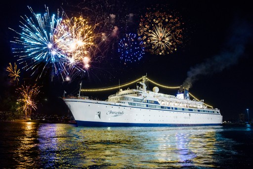 Freewinds Maiden Voyage Anniversary Honors Unforgettable 12 Months for Scientology