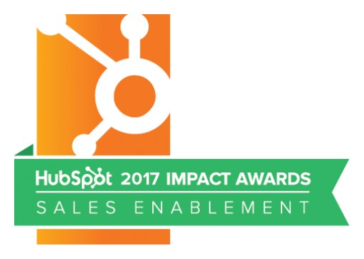 SalesHub Wins HubSpot Impact Award for Sales Enablement
