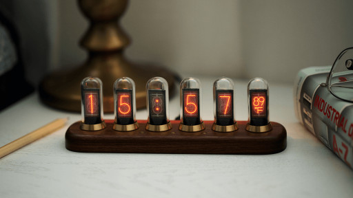 Nextube - The First Hackable Nixie Clock Inspired Modern Display