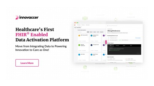 Innovaccer Launches Healthcare's First FHIR® Enabled Data Activation Platform