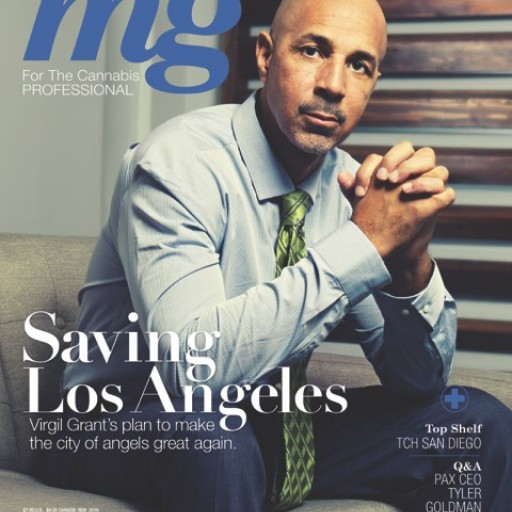 """With Less Than a Week Until Election Day, National Cannabis Business Trade Journal mg Magazine Reveals How the """"King of Los Angeles"""" Virgil Grant Plans to Fix the Industry"""