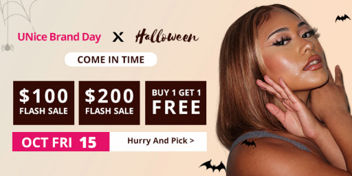 UNice Hair Offering Line of Wigs to Turn Heads on Halloween
