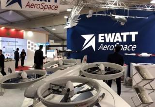 Ewatt Aerospace's Booth
