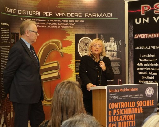 CCHR Exhibit: Experts Expose Psychiatric Abuse in Rome