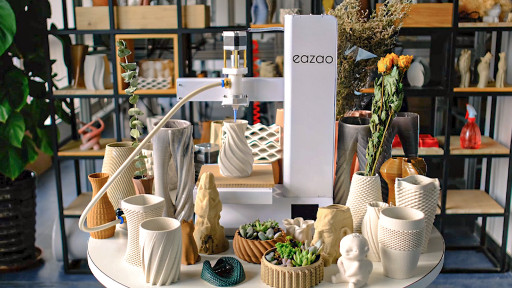 Cerambot Launches Eazao - Their 2nd Generation Ceramic 3D Printer with Upgraded Performance & New Features