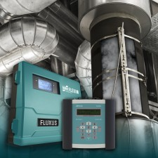 FLEXIM FLUXUS ST Steam Meter: Permanent and Portable