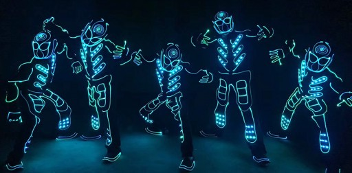 Light Up 2018 Halloween With Tianchuang LED Costumes