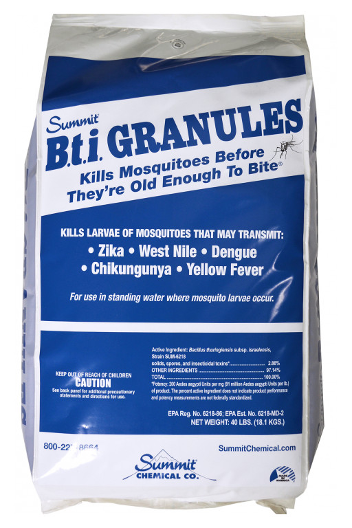 Summit Chemical and Target Specialty Products Donate BTI Granules to Help Fight Mosquitoes in Hurricane Aftermath