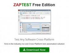 ZAPTEST Free Edition