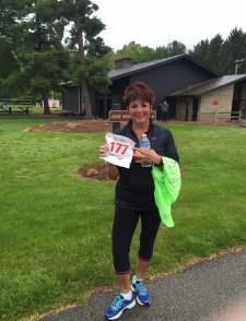 Paula Visingardi after losing more than 30 pounds
