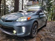 Overlanding Toyota Prius
