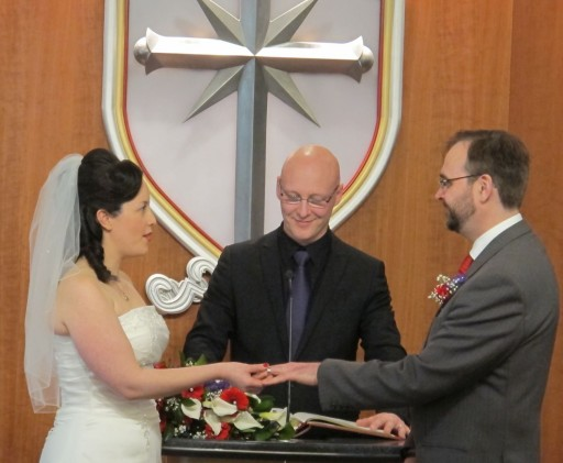 Love Is in the Air—Valentine's Day Wedding at the London Church of Scientology