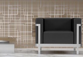 Patty Madden Wallcovering 'Quadrati'