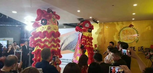 Mao Shan Café Official Opening in China