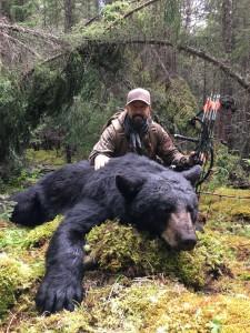 Rick Kreuter's Monster Bear Shot with Veteran Broadheads