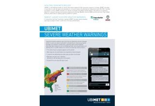 UBIMET Severe Weather Warnings
