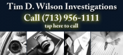 Tim D. Wilson Investigations