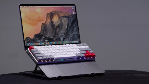 Introducing Epomaker NT68 - Extremely Versatile and Flexible Magic Mechanical Keyboard With a Carrying Case as a Movable Stand