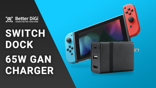 Dongii - the Ultimate Nintendo Switch Dock and 65W GaN Charger Announces Launch