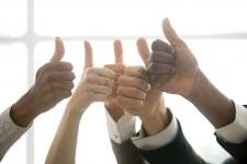 Thumbs Up To Teamwork