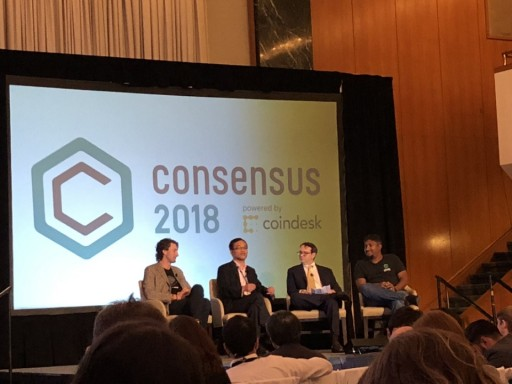 Ken Huang, President of THEKEY, Presented at CoinDesk Consensus 2018 in NYC
