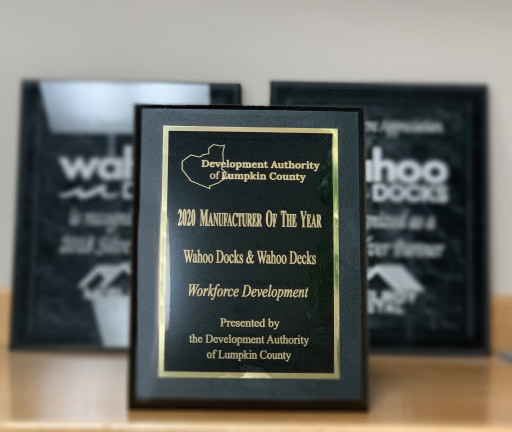 Wahoo Docks Awarded as a 2020 Manufacturer of the Year for Workforce Development