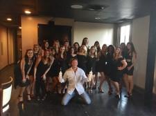 Founder Robert Tushinsky with Pink Kitty Girls