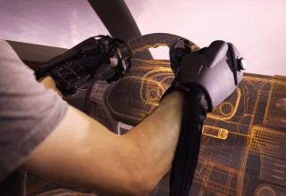 HaptX Gloves in automotive design