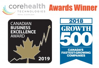CoreHealth Technologies Two Time Award Winner