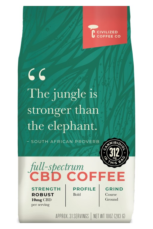 Civilized Coffee Announces the Launch of Their Full-Spectrum CBD Coffee Line