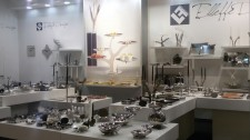 Modern Italian Stainless Steel Home Decor and Serveware at Las Vegas Market Trade Show Expo