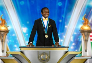 Freedom Medal Winner Daniel Okello