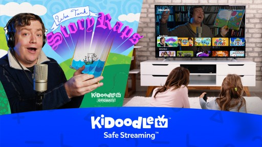 Kidoodle.TV® StoryRaps Into the Originals Game With Mashup Sensation Wes Tank
