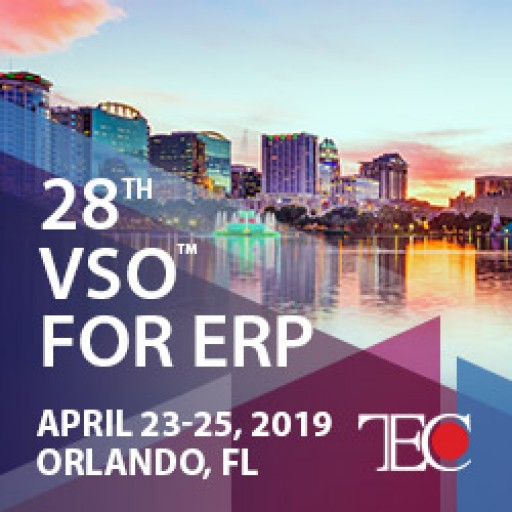 Technology Evaluation Centers (TEC) Moderates the 28th VSO™ for ERP, the Nation's Leading ERP Event
