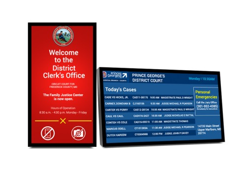 Mvix Launches Digital Docket Display System for Courthouses