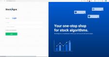 Stock Algos Landing Page