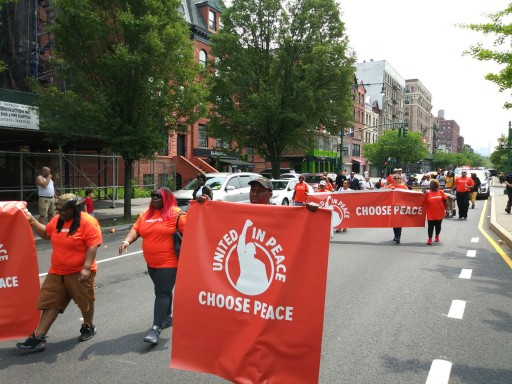 Harlem 'Peace in the Streets' March Targets Gun Violence