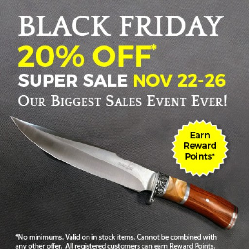 Atlanta Cutlery's Black Friday Super Sale to Offer 20% Discount